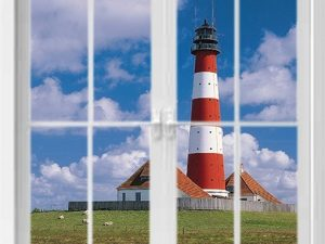optische-barriere-fenster-mit-leuchtturm