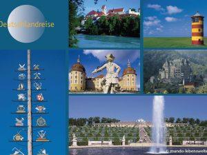 Themenwand Deutschlandreise zum Erhalten von Erinnerungen